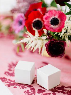 10 gab,  Kastītes, baltas, 5 x 5 x 5 cm