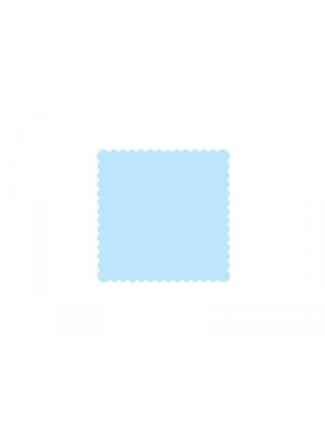 200 gb. Salvetes, zilas, 15 x 15 cm