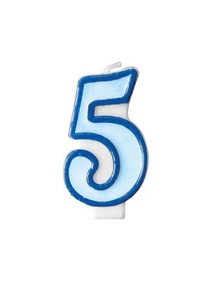 Svecīte zila 5