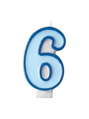 Svecīte zila 6