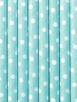 10 gab, Salmiņi gaiši zili, 19.5 cm