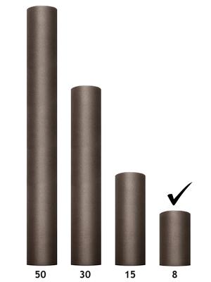 Tills, brūns, 0.08 x 20 m