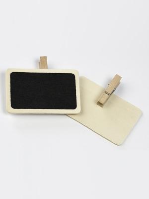 2 gab, Krīta tāfeles, melnas, 7 x 4.6 cm