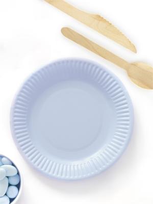 6 gab, Šķīvīši rudzupuķu zili, 18 cm