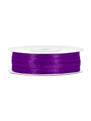 Satīna lente, violets, 3 mm x 50 m