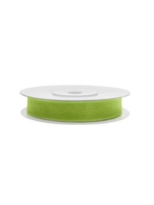 Šifona lente, zaļo ābolu, 6 mm x 25 m