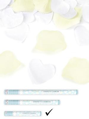 Plaukšķene ar sirdīm un rožlapiņām, 40 cm