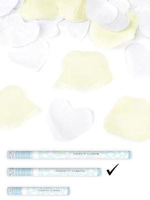 Plaukšķene ar sirdīm un rožlapiņām, 60 cm