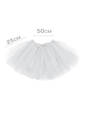 Tutu apakšsvārki, balti, 50 x 25 cm