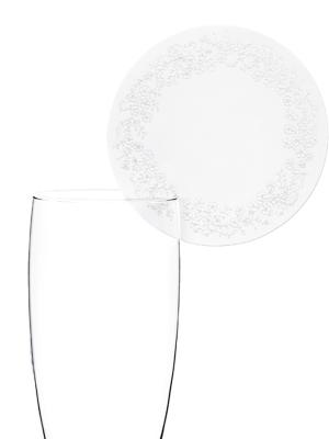 10 gab, Glāzes dekors Aplis, 7.5 cm