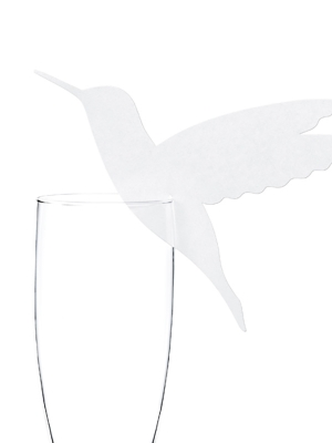 10 gab, Glāzes dekors Kolibri, 12.5 x 10 cm