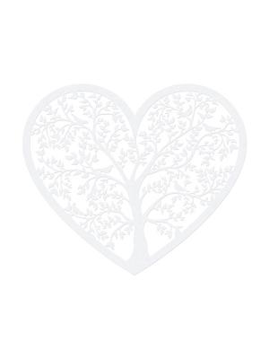 10 gab, Papīra dekorācija Sirds, 13.5 x 11.5 cm