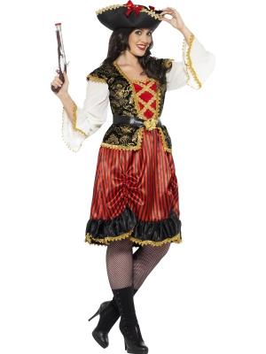 Pirātu Dāmas kostīms