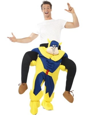 Supervaroņa- banāna kostīms