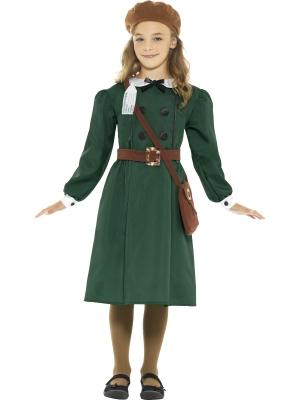 Otrā pasaules kara meitenes kostīms