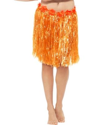 Havaju stila svārki, neona oranži