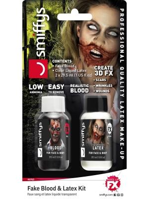 Mākslīgās asinis un lateksa šķidrums, 29.57 ml