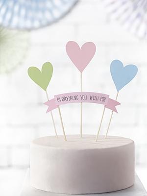 4 gab, Tortes dekors, Everything you wish for