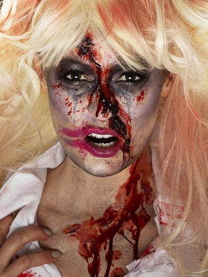 Zombiju medmāsas make up komplekts