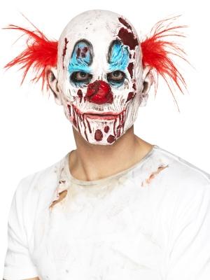 Zombija klauna maska