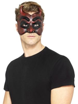 Maskarādes velna maska, lateksa