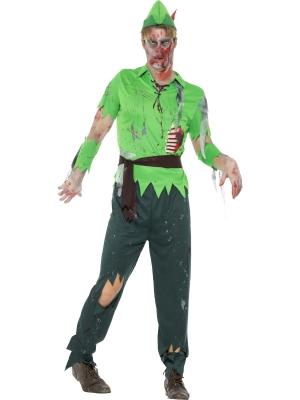 Zombija pazudušā zēna kostīms