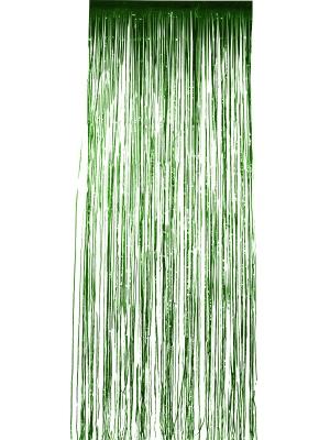 Lietutiņa aizskars, zaļš, 91 cm x 244 cm