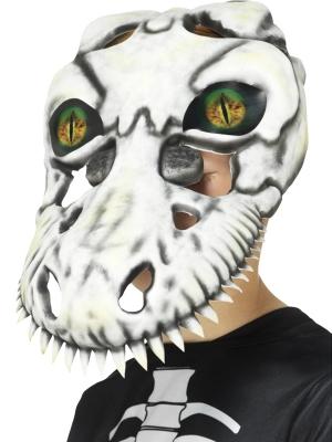 Dinozaura galvas kausa maska