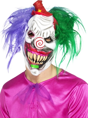 Klauna slepkavas maska