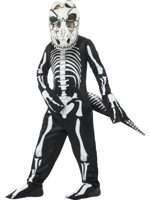 Dinozaura skeleta kostīms