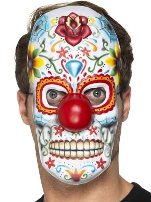 Mirušo dienas klauna maska