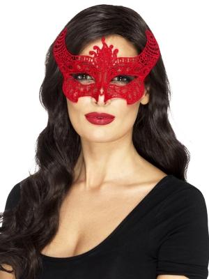 Filigrāna acu maska, audums
