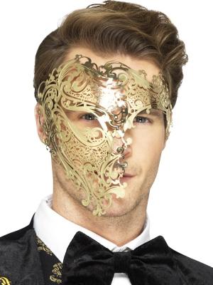 Filigrāna Fantoma maska, metāls