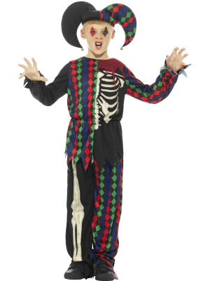 Jokdara skeleta kostīms