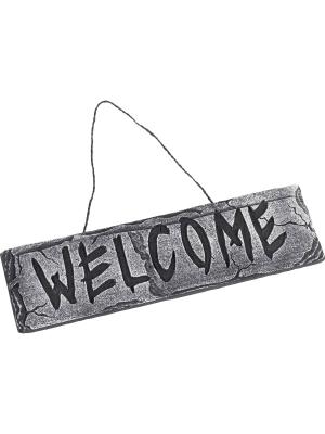 Zīme Welcome, 35 cm x 10 cm