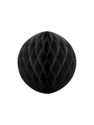 Papīra bumba, melna, 40 cm