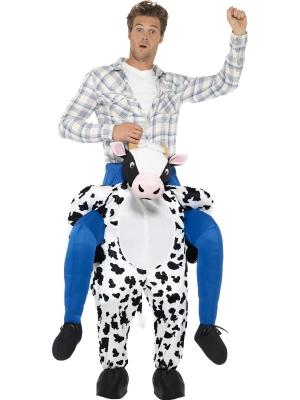 Kostīms - govs mugurā