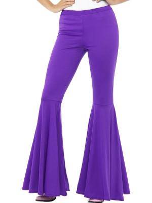 Kļoša bikses, violetas