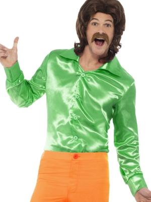 Disko krekls, zaļš