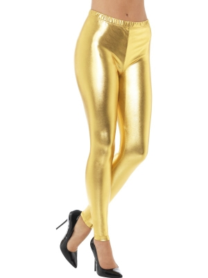 Disko legingi, zelta