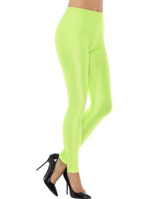 Disko legingi, neona zaļi