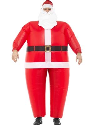 Santa Klausa piepūšamais kostīms