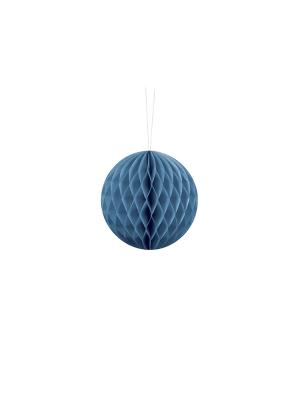 Papīra bumba, zila, 10 cm