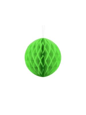 Papīra bumba, zaļš ābols, 20 cm