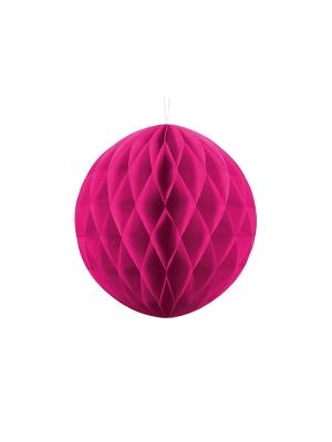 Papīra bumba, tumši rozā, 30 cm
