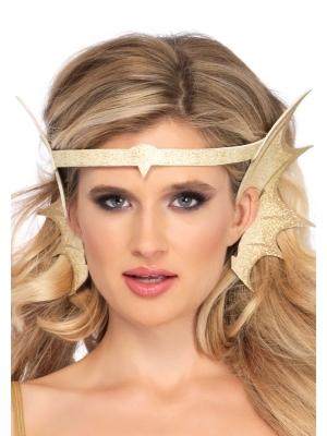 Nāras galvas aksesuārs, zelta