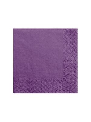 20 gab, Salvetes, gaiši violetas, 40 x 40 cm
