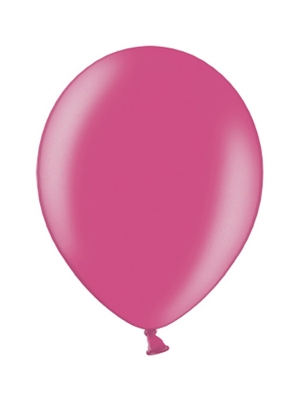 100 gab, Tumši rozā, metalisks, 29 cm