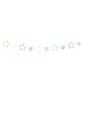 "Zvaigžņu virtene ""Vienradzis"",  12.5 cm x 140 cm, 1 gab"