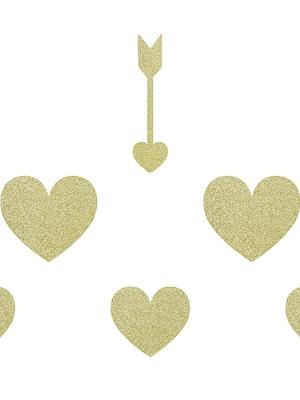8 gab, Papīra bultas un sirdis, kolekcija Salda mīla